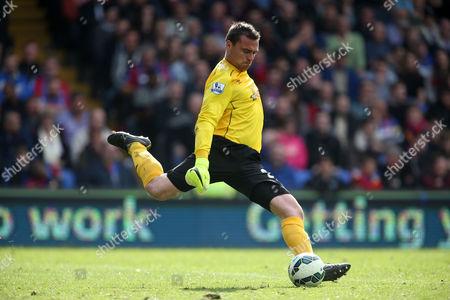 Hull City goalkeeper Steve Harper