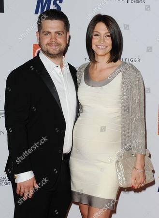 Stock Image of Jack Osbourne and Lisa Stelly