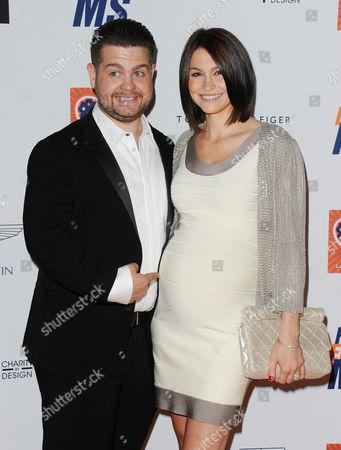 Stock Photo of Jack Osbourne and Lisa Stelly