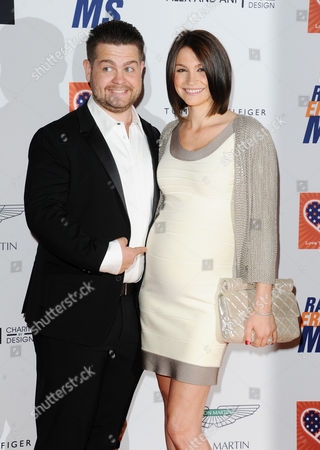 Stock Picture of Jack Osbourne and Lisa Stelly