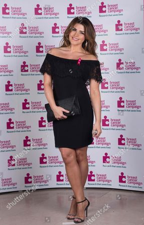 Editorial picture of Manchester Pink Ribbon Ball, Britain - 25 Apr 2015