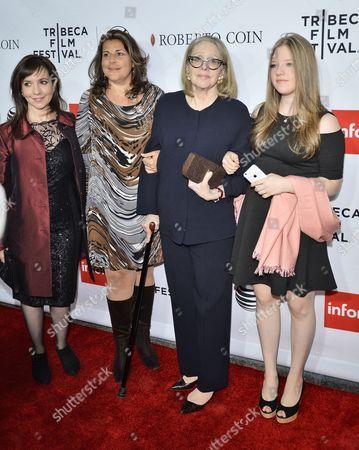 Domenica Cameron-Scorsese, Cathy Scorsese, Helen Morris, Frances