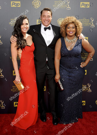 Editorial picture of 2015 Daytime Emmy Awards, Arrivals, Los Angeles, America - 26 Apr 2015