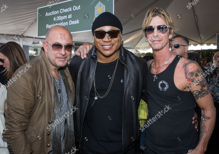 John Varvatos, LL Cool J and Duff McKagen