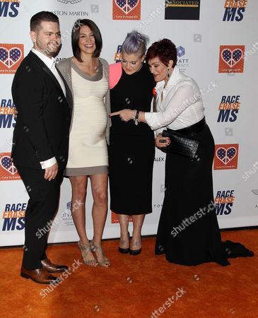 Jack Osbourne, Lisa Stelly, Kelly Osbourne, Sharon Osbourne