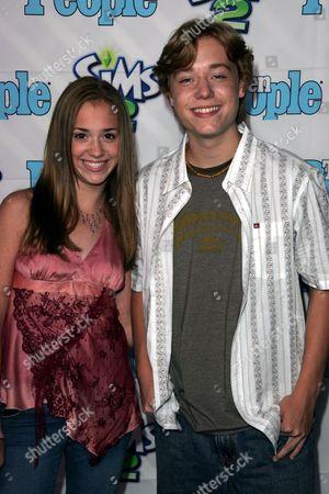 Andrea Bowen and Brother Cameron Bowen