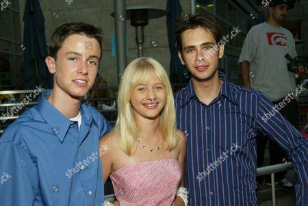 Ryan Kelly, Carly Schroeder and Scott Mechlowicz