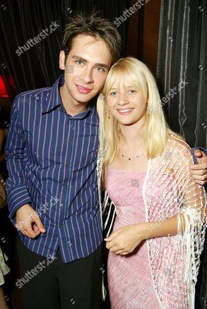 Scott Mechlowicz and Carly Schroeder
