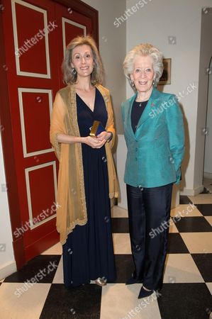 Princess Sibilla of Luxembourg with Archduchess Rodolphe of Austria