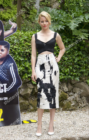 Editorial image of 'Pitch Perfect 2' film photocall, Rome, Italy - 27 Apr 2015