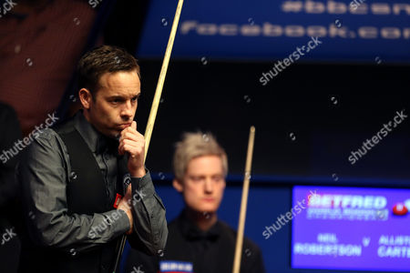 Editorial photo of Betfred World Snooker Championships 2015 Day Ten - 27 Apr 2015