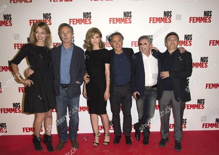 Pauline Lefevre, Thierry Lhermitte, Richard Berry, Daniel Auteuil and Thomas Langmann
