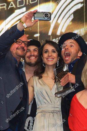 Editorial picture of Radio Regenbogen Award in Rust, Germany - 24 Apr 2015