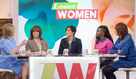 Ruth Langsford, Coleen Nolan, Tanya Byron, Jamelia and Janet Street-Porter.