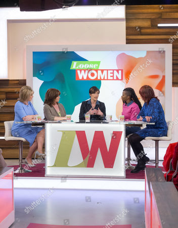 Editorial photo of 'Loose Women' TV Programme, London, Britain. - 28 Apr 2015