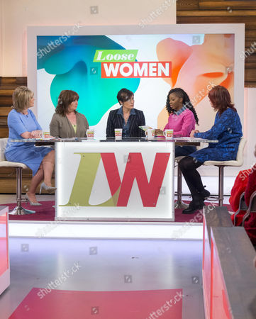 Editorial picture of 'Loose Women' TV Programme, London, Britain. - 28 Apr 2015