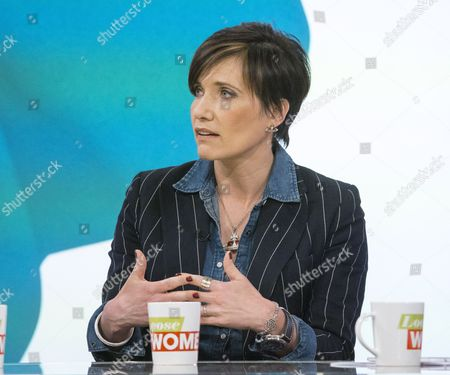 Editorial image of 'Loose Women' TV Programme, London, Britain. - 28 Apr 2015