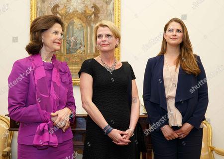 Queen Silvia, Princess Madeleine, Asa Regner