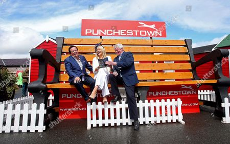 RTE's Marty Morrissey, Miriam O'Callaghan and Michael Lyster