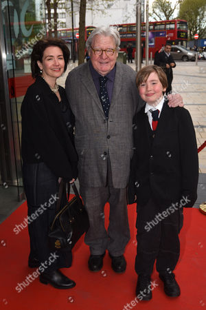 Sir Alan Parker and Lisa Moran
