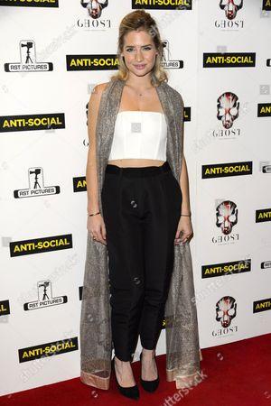 Editorial picture of 'Anti-Social' film premiere, London, Britain - 28 Apr 2015