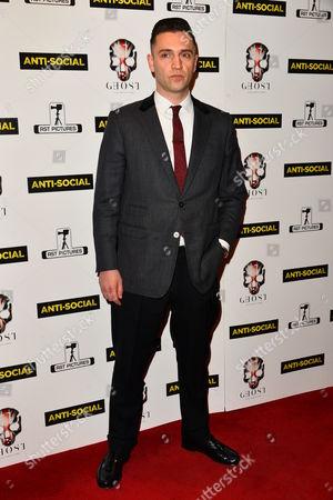 Editorial image of 'Anti-Social' film premiere, London, Britain - 28 Apr 2015