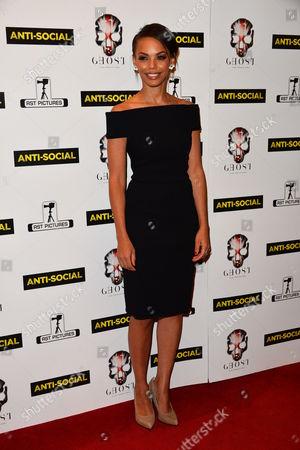 Editorial photo of 'Anti-Social' film premiere, London, Britain - 28 Apr 2015