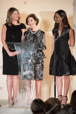 Jenna Bush, Former First Lady Laura Bush, Barbara Pierce Bush