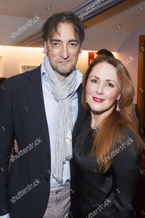 Alistair McGowan (Dimitri Weissman) and Charlotte Page