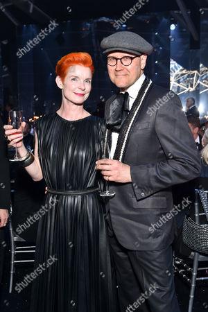 Stock Photo of Sandy Powell and Simon Costin