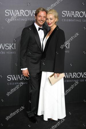 Markus Langes-Swarovski and Julia Langes-Swarovski