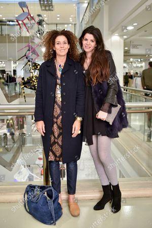 Pippa Small and Natasha Tomcic