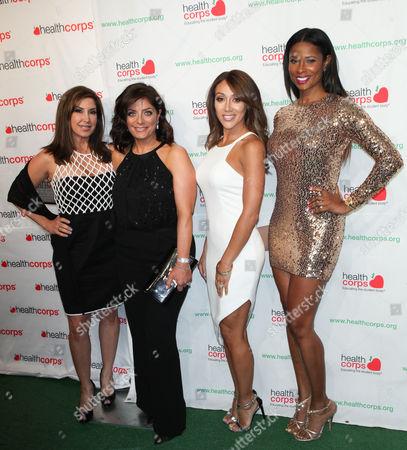 Jacqueline Laurita, Kathy Wakile, Melissa Gorga and Jennifer Wil