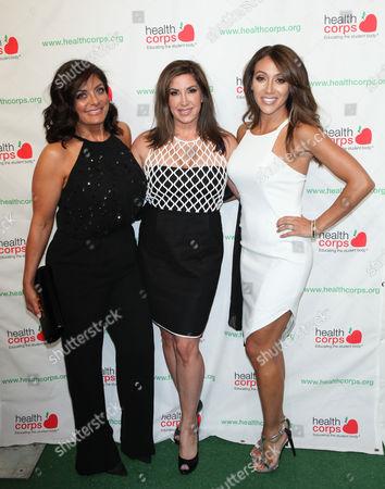 Jacqueline Laurita, Kathy Wakile and Melissa Gorga