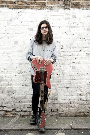London United Kingdom - June 17: Portrait Of English Musician Joshua Hayward Guitarist With Indie Rock Group The Horrors Photographed In London On June 17