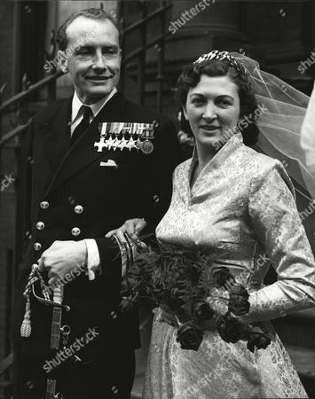 Wedding Of Mrs Susan Broadhurst A Member Of The Millionaire Wills Tobacco Family To Lieut-commander Michael Baillie-groham. Box 553.