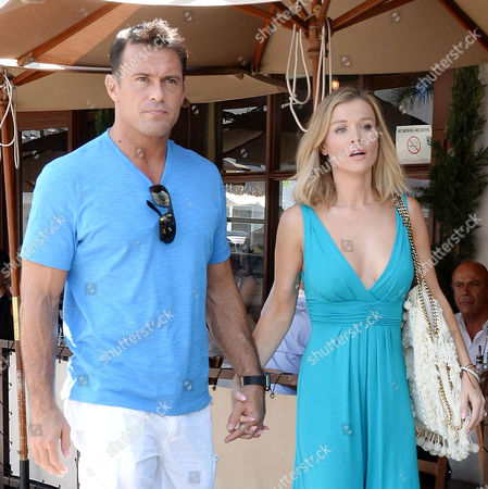 Stock Picture of Joanna Krupa, Romain Zago