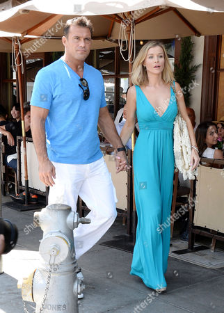 Stock Image of Joanna Krupa, Romain Zago