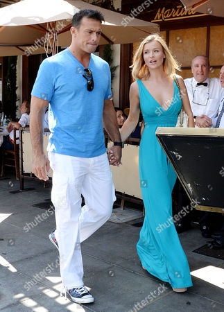 Stock Image of Joanna Krupa, Romain Zago
