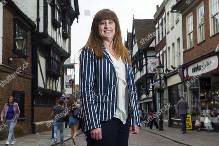 Editorial image of Kelly Tolhurst photoshoot, Conservative candidate for Rochester and Strood, London, Britain - 10 Apr 2015