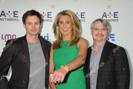 Bradley James, Nancy Dubuc, Glen Mazzara