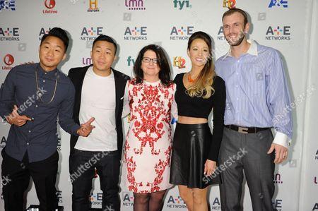 Stock Image of Andrew Fung, David Fung, Jana Bennett, Jamie Otis, Doug Hehner