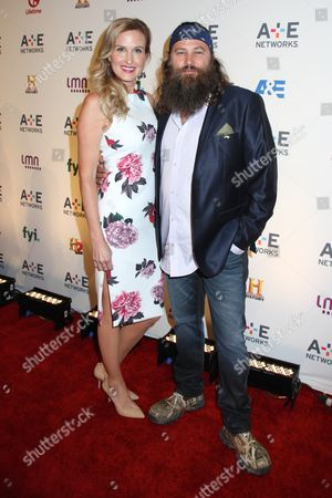 Stock Photo of Korie Robertson and Willie Robertson