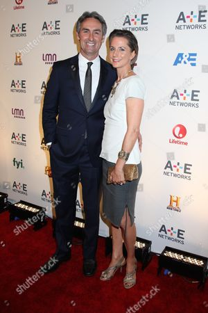 Stock Picture of Mike Wolfe and wife Jodi Faeth
