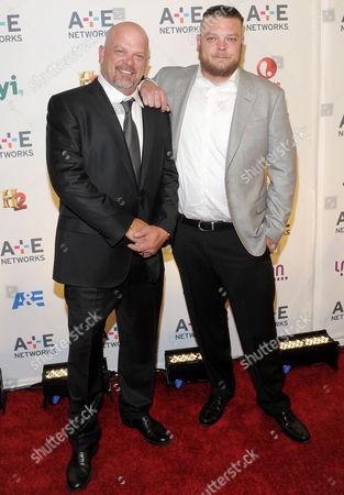 Rick Harrison and Corey Harrison