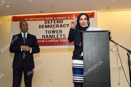 Lutfur Rahman and Councillor Rabina Khan
