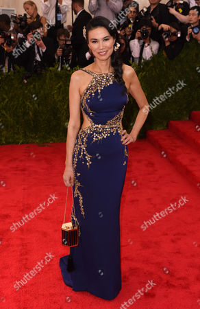 Editorial picture of Costume Institute Gala Benefit celebrating China: Through the Looking Glass, Metropolitan Museum of Art, New York, America - 04 May 2015
