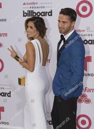 Stock Photo of Andrea Escalona and Roman Camara