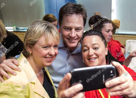 Editorial image of Liberal Democrat general election campaigning, Solihull, Britain - 01 May 2015