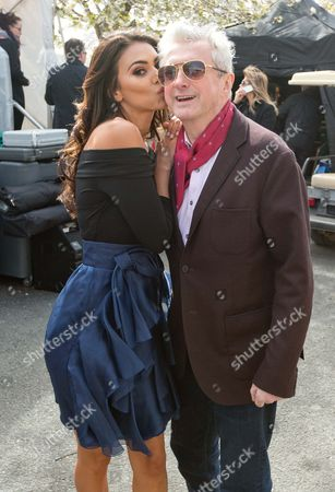 Stock Picture of Georgia Salpa and Louis Walsh